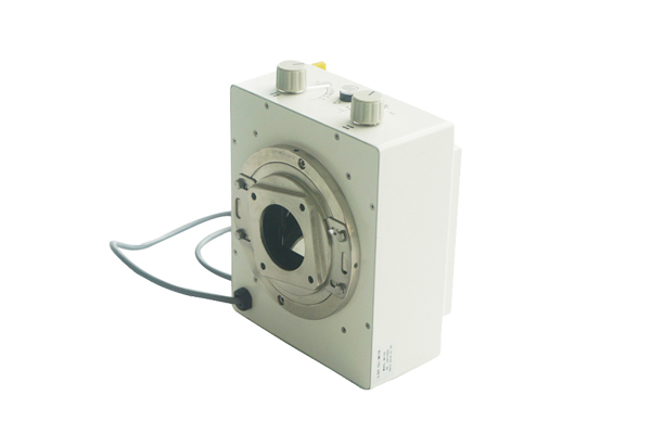 Is the electric type of x ray collimator easy to operate