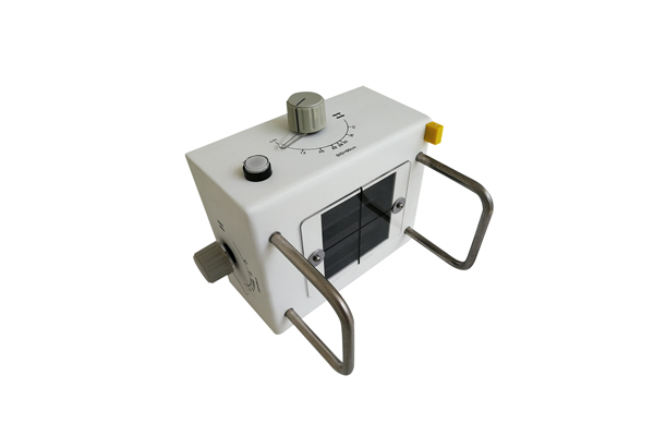 What is the light source structure of the x ray collimator with LED light