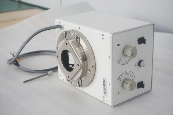 What is the structure of the x ray collimator machine