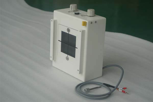What are the types of x ray collimator used in mobile X-ray machines